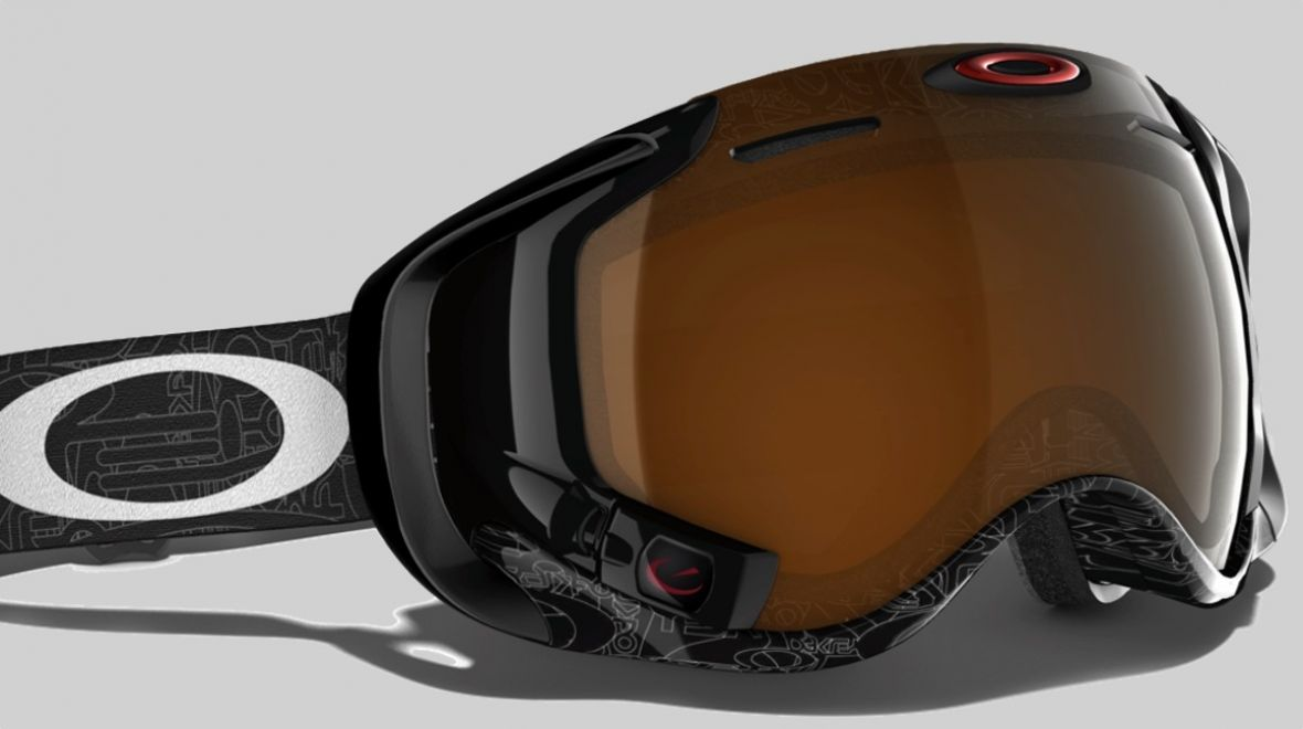 oakley ski goggles prizm  with its ski
